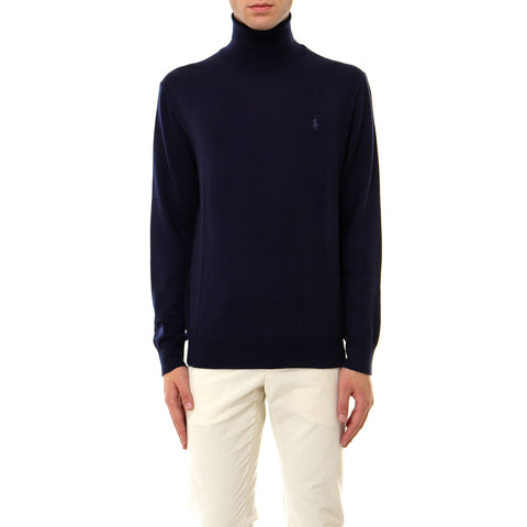 Polo Ralph Lauren Logo Embroidered Turtleneck Sweater