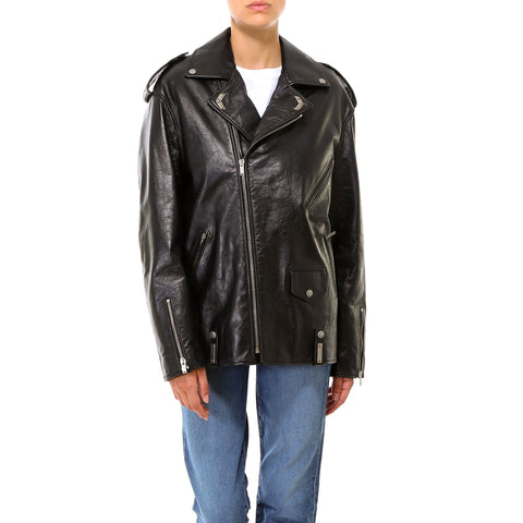 Saint Laurent Oversized Biker Jacket