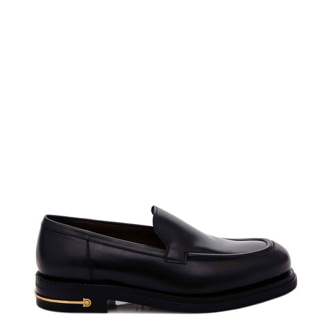 Salvatore Ferragamo Metal Detail Loafers