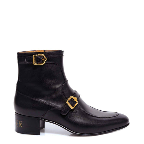 Gucci Buckle Detail Ankle Boots
