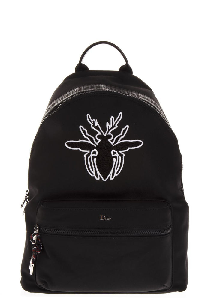 Dior Homme Bee Embroidered Backpack