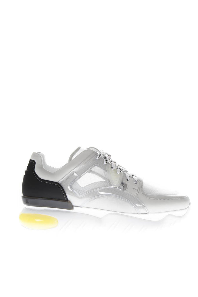 Fendi Elevated Sole Lace-Up Sneakers