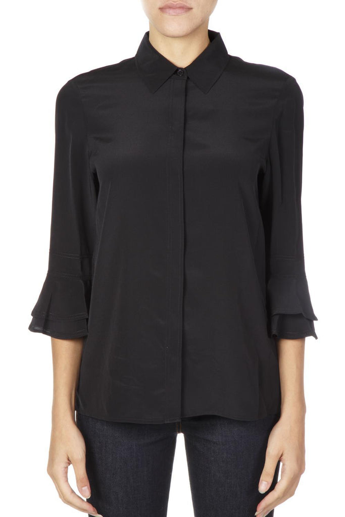 Tory Burch Ruffled Sleeves Shirt
