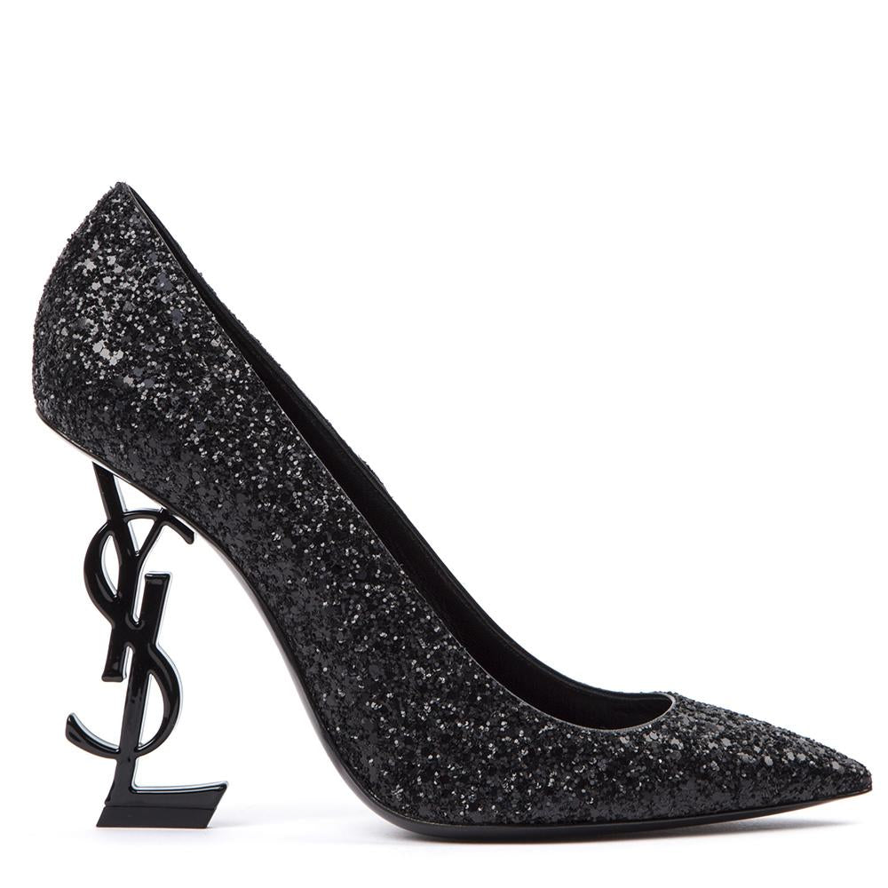 Saint Laurent Opium 85 Glitter Pumps