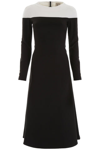 L'Autre Chose Contrast Colour Dress