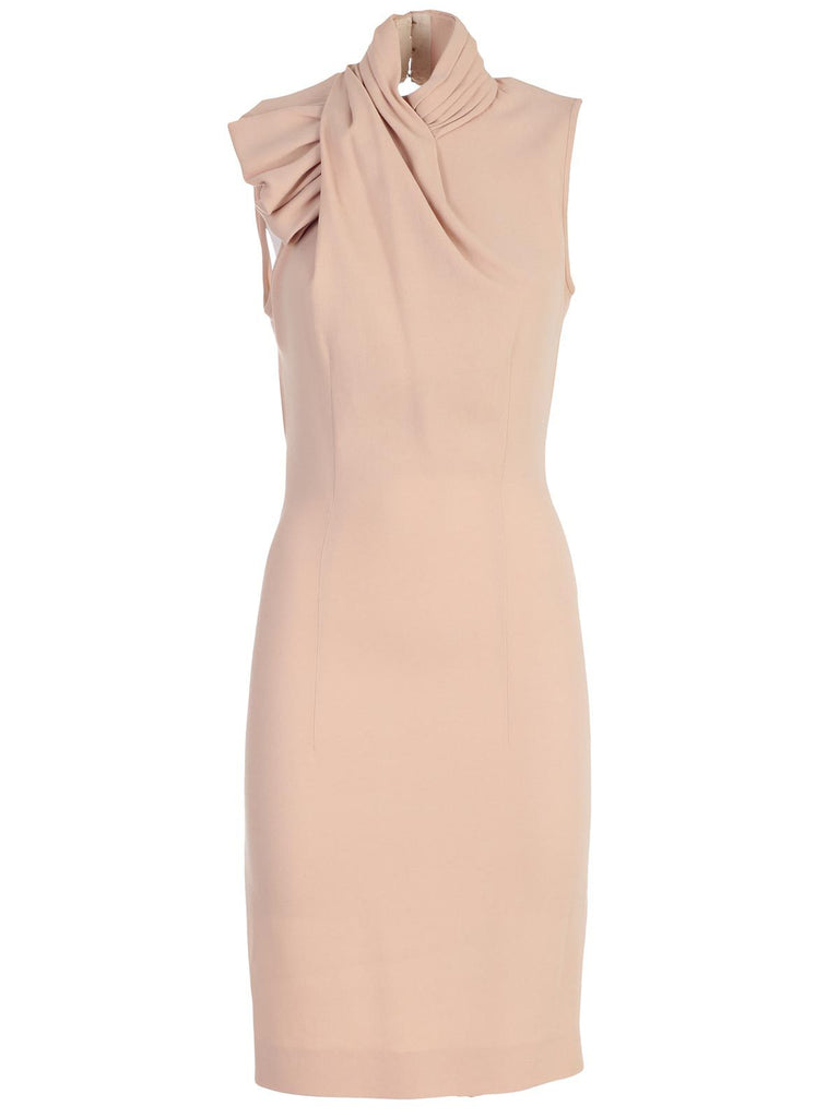 Dsquared2 High Neck Backless Dress