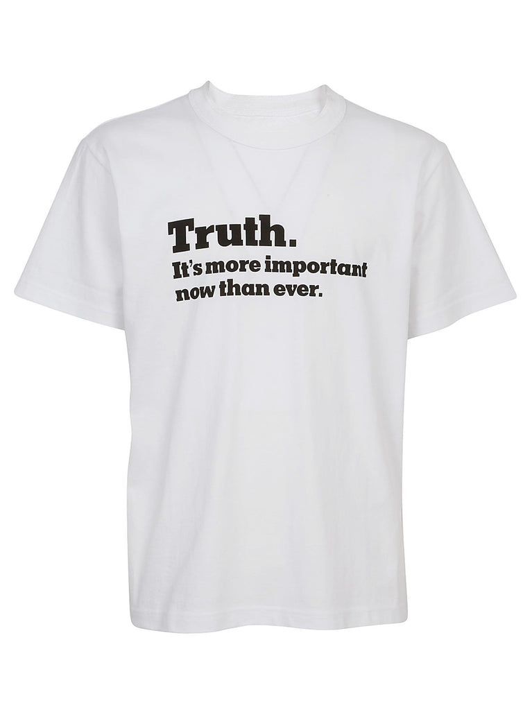 Sacai Truth Printed T-Shirt