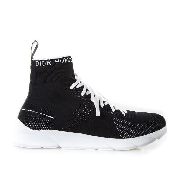 Dior Homme Lace Up Sock Sneakers