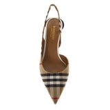 Burberry Vintage Check Slingback Pumps