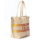 Chloé Logo Medium Tote Bag