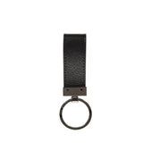 Dolce & Gabbana Leather Logo Plaque Keyring