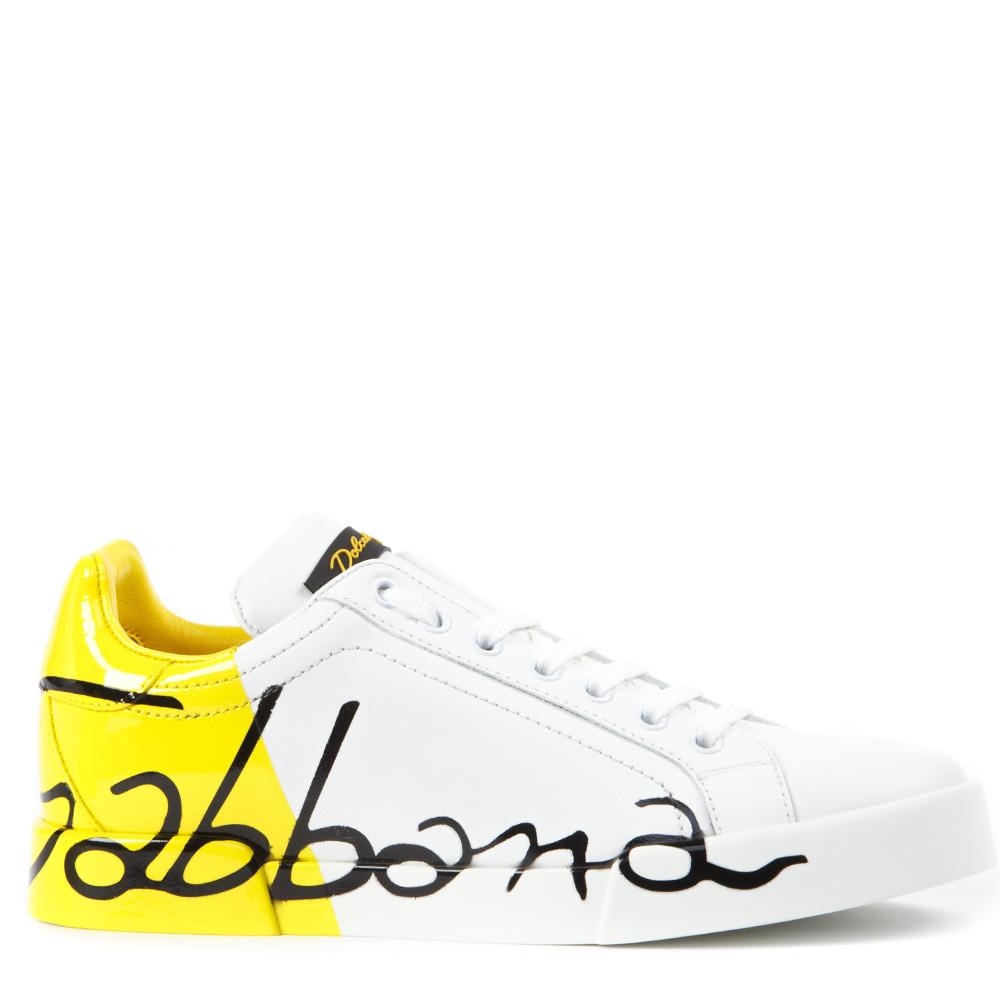 Dolce & Gabbana Colour Block Logo Sneakers