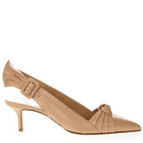 Francesco Russo Knotted Slingback Pumps
