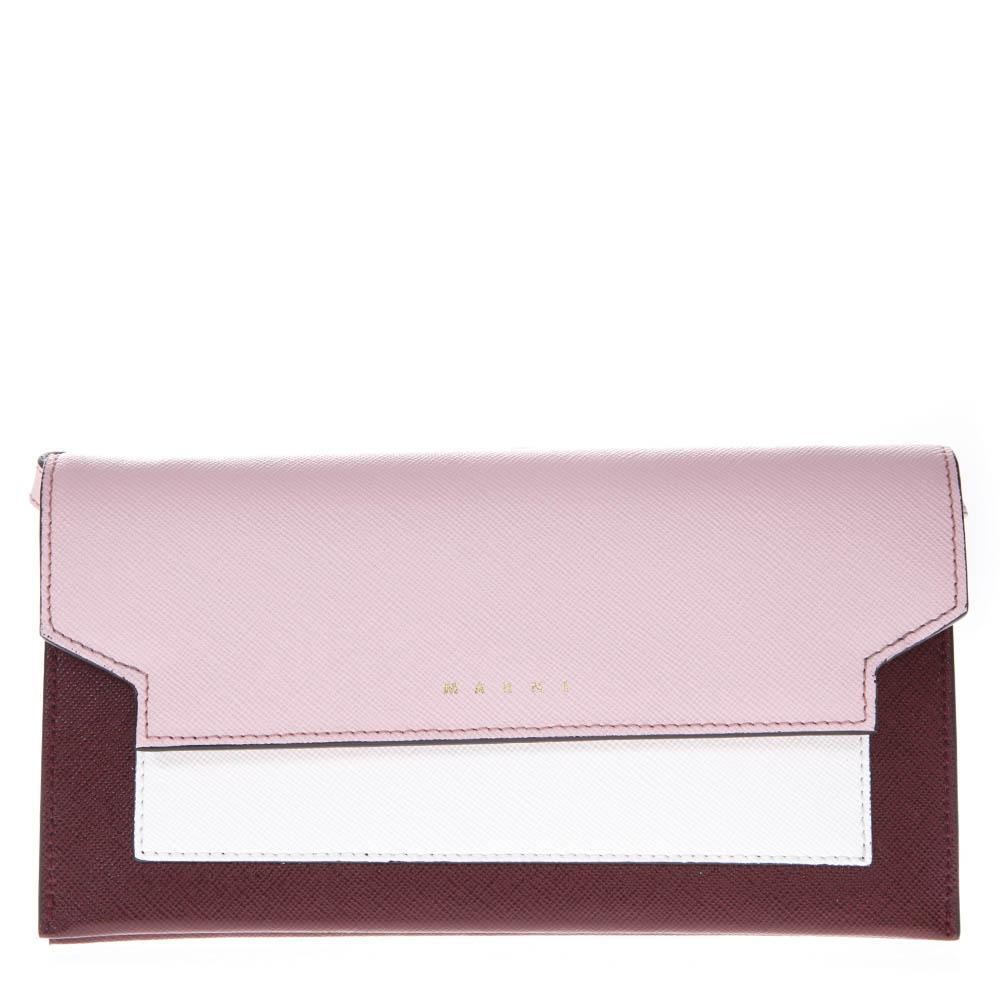 Marni Tri-Coloured Strap Wallet