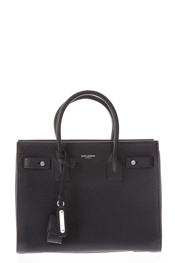 Saint Laurent Logo Mocassins Tote Bag