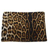 Saint Laurent Leopard Square Scarf