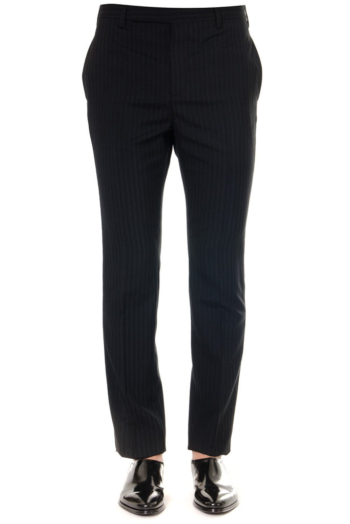 Saint Laurent Contrasting Pinstripe Trousers