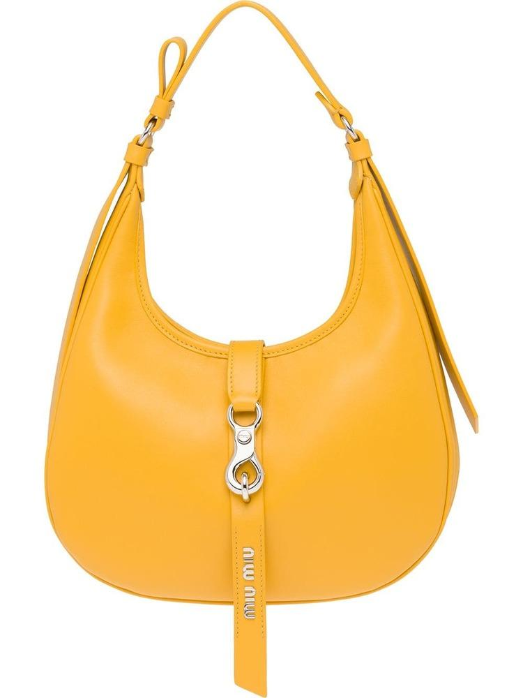 Miu Miu Strap Closure Hobo Bag