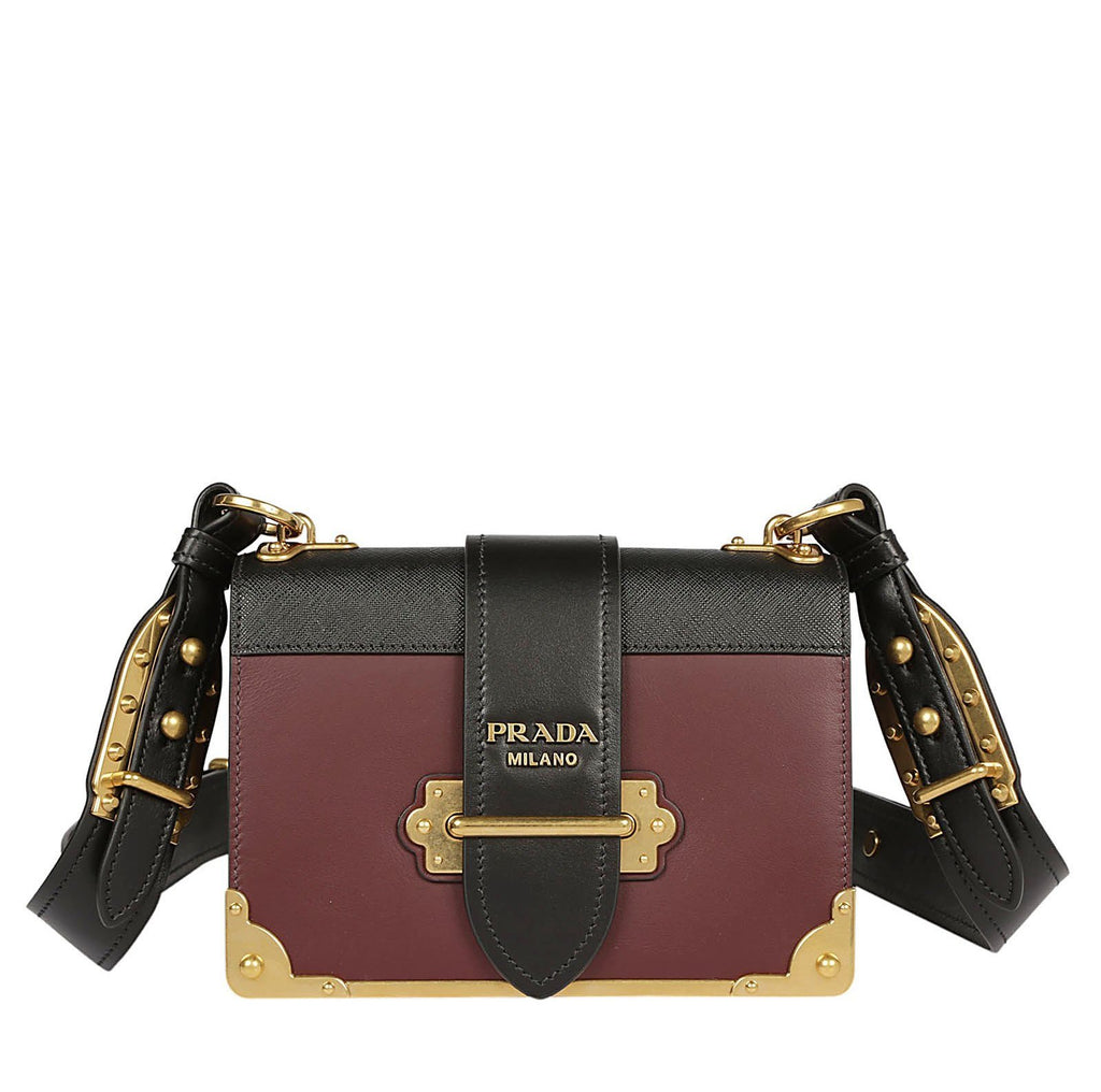Prada Cahier Chest Shoulder Bag