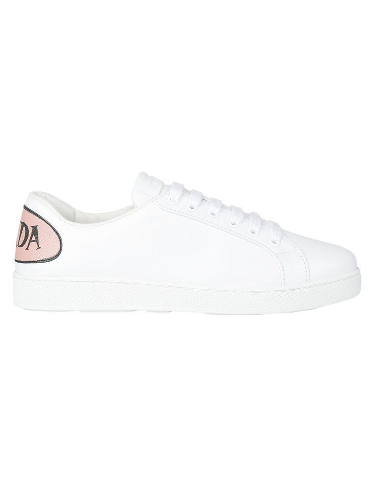 Prada Speech Bubble Leather Sneakers
