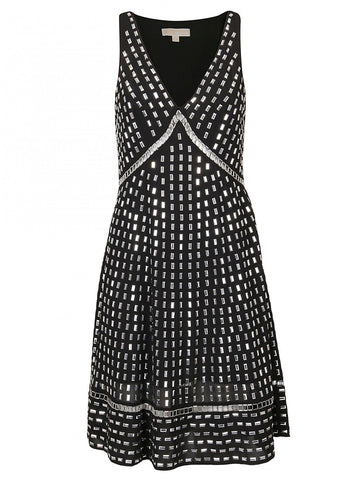 Michael Michael Kors Georgette Embellished Dress