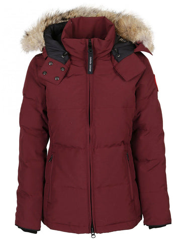 Canada Goose Fur Trimmed Hooded Puffer Jacket