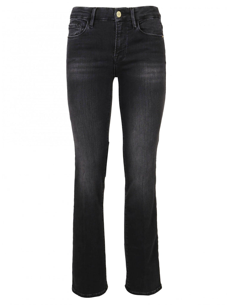 Frame Mid Rise Flare Jeans