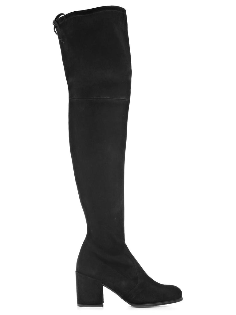Stuart Weitzman Tieland Suede Over The Knee Boots