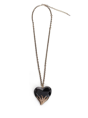 Saint Laurent Heart Necklace