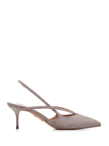 Aquazzura Slingback Pointed Toe Pumps