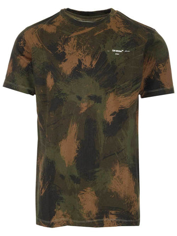 Off-White Camouflage Logo T-Shirt