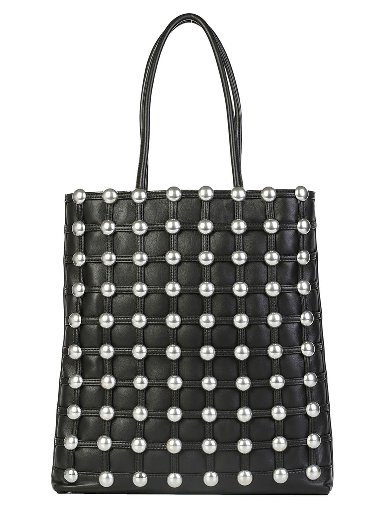 Alexander Wang Dome Stud Cage Shopping Tote