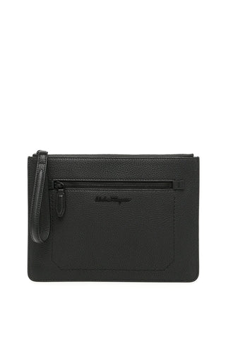 Salvatore Ferragamo Wristlet Clutch Bag