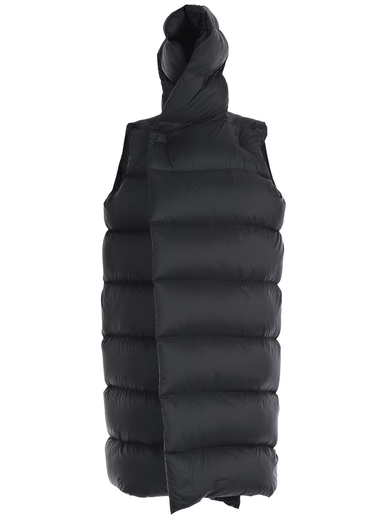 Rick Owens Oversized Padded Sleeveless Jacket