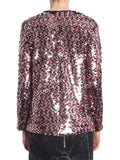 MCQ Alexander McQueen Long-Sleeve Sequined Blouse