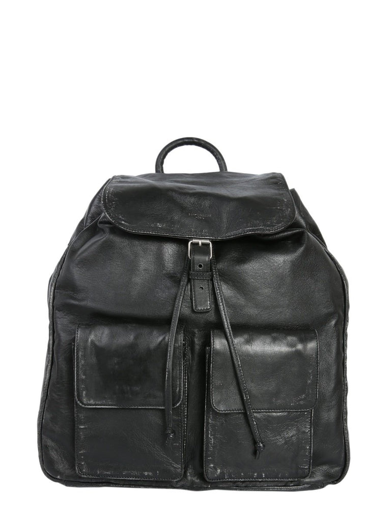 Saint Laurent Nino Double Front Pocket Backpack