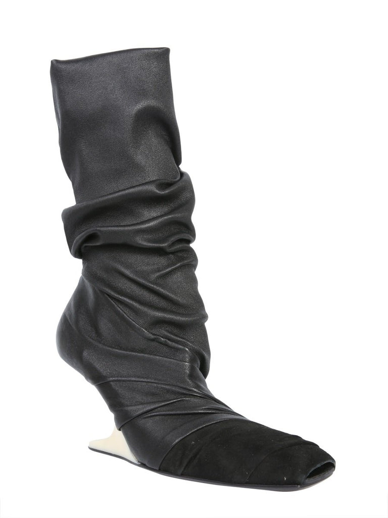 Rick Owens Crease Sock-Like Boots