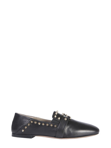 Versace Collection Studded Medusa Loafers