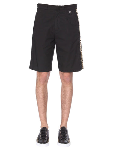 Versace Collection Logo Trim Shorts