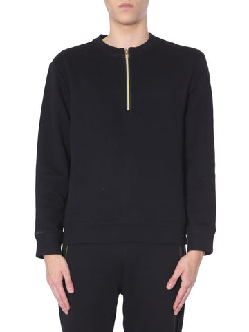 Versace Collection Zip Detail Sweatshirt