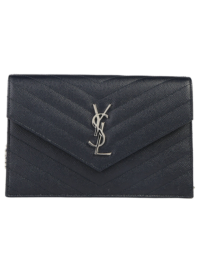 Saint Laurent Logo Padded Crossbody Bag