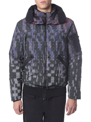 Stone Island Shadow Project Graphic Printed Hooded Jacket