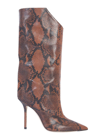 Jimmy Choo Bryndis Snake Effect Boots