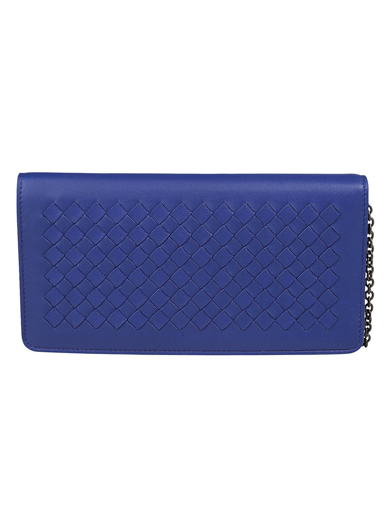 Bottega Veneta Intreccio Chain Wallet