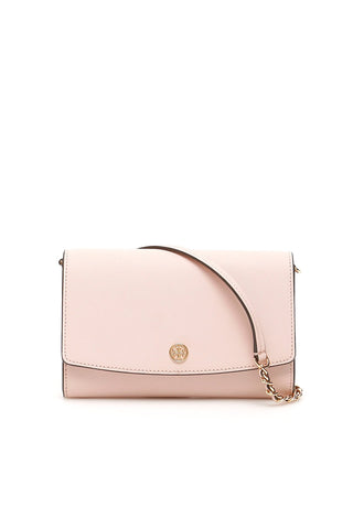 Tory Burch Robinson Logo Chain Wallet