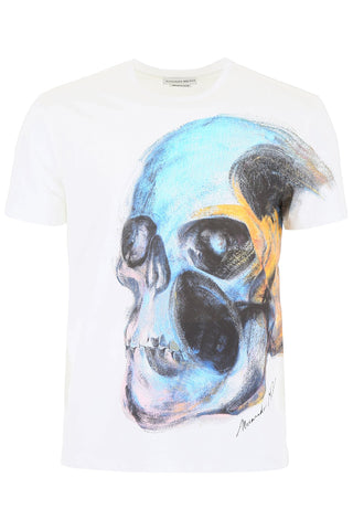 Alexander McQueen Graphic Printed T-Shirt