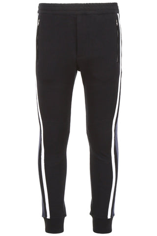 Alexander McQueen Contrasting Panelled Logo Track Pants