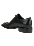 Balenciaga BB Derby Lace-Up Shoes