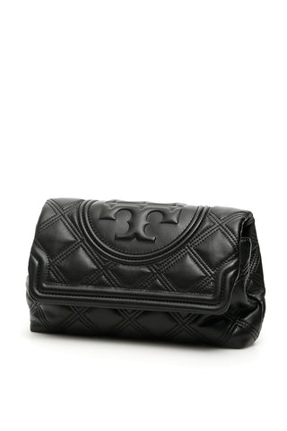 Tory Burch Fleming Quilted Clutch Bag