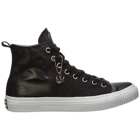 McQ Alexander McQueen Swallow Print High-Top Sneakers